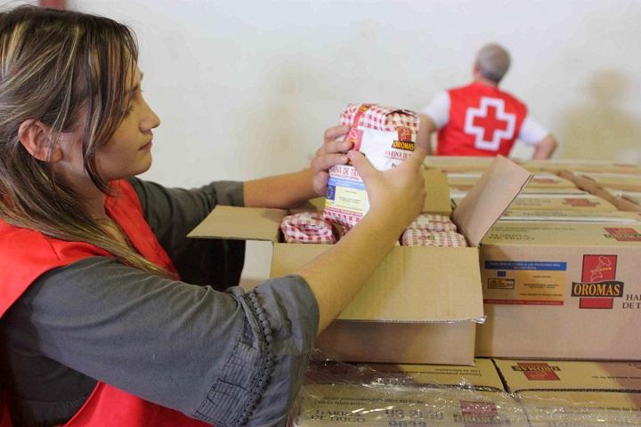 Alimentos Cruz Roja
