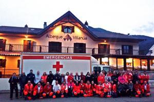 Cruz Roja participa con 300 personas voluntarias en el simulacro de interés nacional ECCARAGÓN 2019