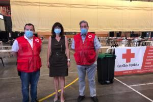 """CaixaBank destina 5.000 euros de la Fundación """"la Caixa"""" a Cruz Roja para hacer frente a los gastos del albergue de Fraga"""