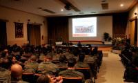 Cruz Roja acerca su historia y labores al Regimiento de infantería «Galicia» 64