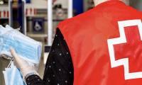 Voluntarios de Cruz Roja Somontano de Barbastro realizarán el reparto del material sanitario durante los próximos días en distintos puntos de Barbastro