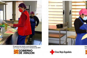 Cruz Roja refuerza a las mujeres en dificultad