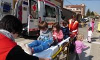 Cruz Roja Española en Binéfar visita la Guardería Municipal