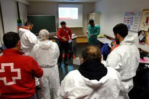 Cruz Roja incrementa su labor para hacer más fácil el confinamiento frente al COVID-19