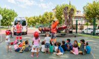 Cruz Roja visita las colonias urbanas Gric i Groc