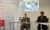 Cruz Roja en la provincia de Huesca presenta su  memoria de actividad de 2013