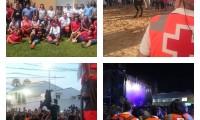 Voluntari@s de Monzón completan un intenso verano por toda España