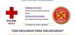 Cruz Roja invita a sus voluntarios de Huesca a la Temporada 2019/2020 del Club Balonmano Bada Huesca