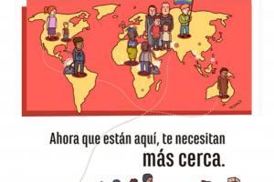Cruz Roja Huesca conmemora el Día Mundial del Hábitat instando a la población eliminar las barreras en el acceso a la vivienda que sufren las personas migrantes y refugiadas