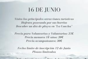 Excursión a San Sebastián – 16 de Junio
