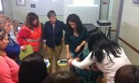 Voluntarios Cruz Roja en Barbastro y Aínsa se forman para incorporarse al proyecto de telemedicina  Smartcare