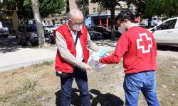 Cruz Roja Huesca conmemora el Día Mundial del Medio Ambiente promoviendo el buen uso y desecho de mascarillas y guantes