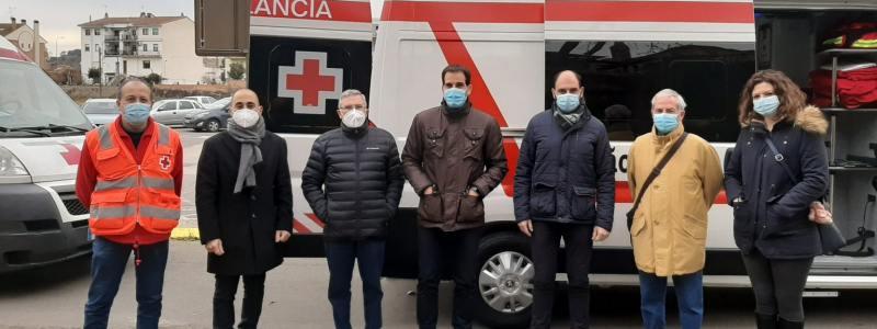Nueva ambulancia para nuestra labor en Barbastro