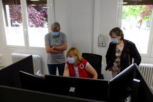 El nuevo portal del servicio LoPe de Cruz Roja permite a la familia controlar directamente la ubicación del usuario