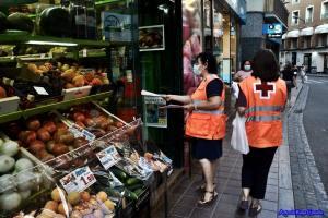 Cruz Roja vuelve a poner en marcha medidas de emergencia frente a los rebrotes por COVID-19