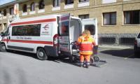 Cruz Roja prepara un dispositivo especial de transporte adaptado con motivo de las elecciones del domingo