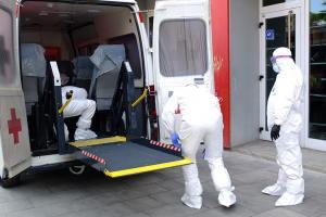 Cruz Roja ha realizado 276 servicios para trasladar a 311 pacientes desde que comenzó el estado de alerta