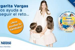 Cruz Roja y Nestlé presentan la campaña Un Millón de Abrazos