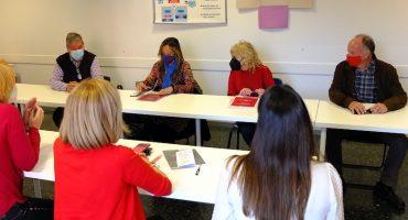 La subdelegada del Gobierno en Huesca visita Cruz Roja